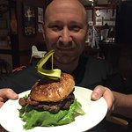Mussels, steak, burger ...mmmm