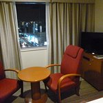 TV and view from room