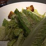 Caesar salad and the fried calamari salad- both good but the calamari is GREAT!B