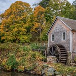 Stony Brook Grist Mill in Autumn