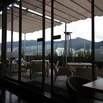 Salón VIP con terraza con hermosa vista