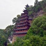 The Shibaozhai Red Pagoda