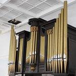 The beautiful pipe organ