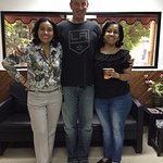 One of my profesoras and the school administrator