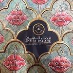 Cover of their impressive menu