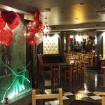 Caio Pasta was all decorated for Valentine's Day!