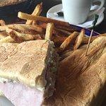 Really good Cuban sandwich.