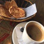 Good Cuban bread and coffee.