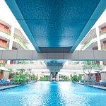 Main pool at VOUK Hotel & Suites Nusa Dua, Bali