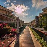 Lovely bridge at VOUK Hotel & Suites Nusa Dua, Bali