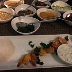 Amazing prawn rice curry really enjoyed it exceptional food