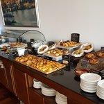 Detalles buffet desayuno.