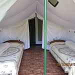 All tents are Twin bedded with electricity for light and charging