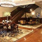 Original lobby of the Astor Hotel