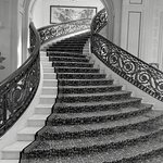 Elegance of staircase within main lobby