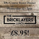Mid Week Roast every Wednesday lunch
