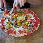 on a essayé les pizzas superbes, généreuses, pas grasse, vrais légumes
