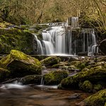 Waterfall above Talybont on Use