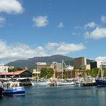 Quayside at Hobart