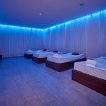 Wasserrelaxbetten mit Farblichttherapie