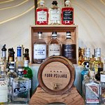 Gin bar with over 20 gins on offer