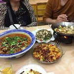 Sechuan-Style food down the road