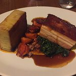 Slow braised belly pork