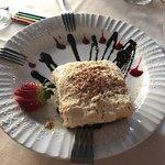 Outstanding dessert, meatballs, pizza, lasagna, caprese, and service!