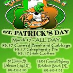 St. Patrick's Day join us hon!