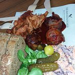 Hot plate pulled pork - The Rought Kitchen MAGNIFIC !!