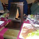 charcuterie accopagnant la raclette