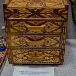 Jewelry box of matchsticks by inmate