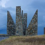 The Millennium Monument at Point Udall.