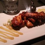 Amazing grilled octopus with Israeli couscous