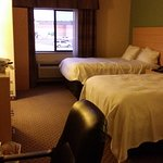 Double Queen bedroom suite, perfectly cleaned ever time, and always smelled fresh