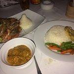 Prawns and Goan prawn curry