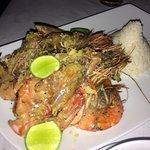 Super king prawns in garlic butter :)