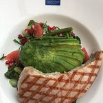 Avocado Super Salad £10.25 with an added tuna steak (£6.00) so £16.25 in total