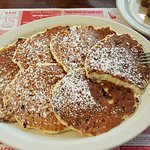 The pecan pancakes were out of this world!