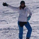 Skiando feliz en La Parva