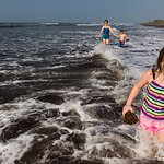 kids loved the waves. be mindful of the currents though.