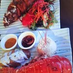 Lobster Tail and Black Grouper#
