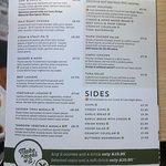 Evening meal main menu - Page 1