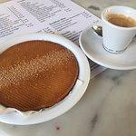 Stroopwafel and espresso