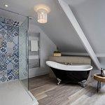 The Loft Suite's bathroom
