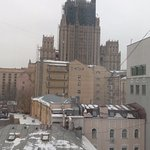 Russian MFA viewed from the room