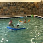 We travel a lot, and the pool here is the best in any motel in which we have stayed!