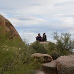 At the top - Boulders Trail
