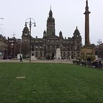 Wonderful statues of the famous and influential....City Chambers is Stunning (iPhone died before