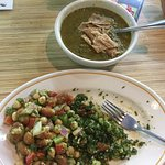 Excellent tabuleh not too much bulgar